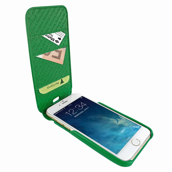 Piel Frama 765 Green iMagnumCards Leather Case for Apple iPhone 7 Plus / 8 Plus