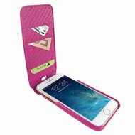 Piel Frama 765 Pink iMagnumCards Leather Case for Apple iPhone 7 Plus / 8 Plus