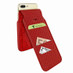 Piel Frama 765 Red Crocodile iMagnumCards Leather Case for Apple iPhone 7 Plus