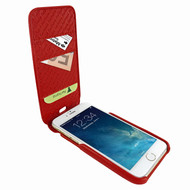 Piel Frama 765 Red Crocodile iMagnumCards Leather Case for Apple iPhone 7 Plus / 8 Plus
