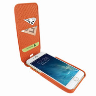 Piel Frama 765 Orange Crocodile iMagnumCards Leather Case for Apple iPhone 7 Plus / 8 Plus