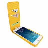 Piel Frama 765 Yellow Crocodile iMagnumCards Leather Case for Apple iPhone 7 Plus / 8 Plus