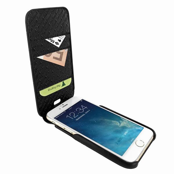 Piel Frama 765 Black Lizard iMagnumCards Leather Case for Apple iPhone 7 Plus / 8 Plus