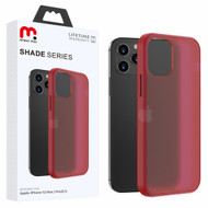 MyBat Pro Shade Series Hybrid Case for Apple iPhone 12 (6.1) - Semi Transparent Burgundy