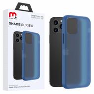 MyBat Pro Shade Series Hybrid Case for Apple iPhone 12 (6.1) - Semi Transparent Navy Blue