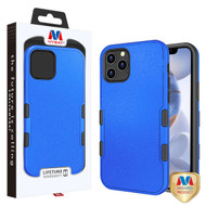 MyBat TUFF Subs Hybrid Case for Apple iPhone 12 (6.1) - Natural Dark Blue / Black