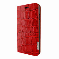 Piel Frama 762 Red Crocodile FramaSlimCards Leather Case for Apple iPhone 7 / 8
