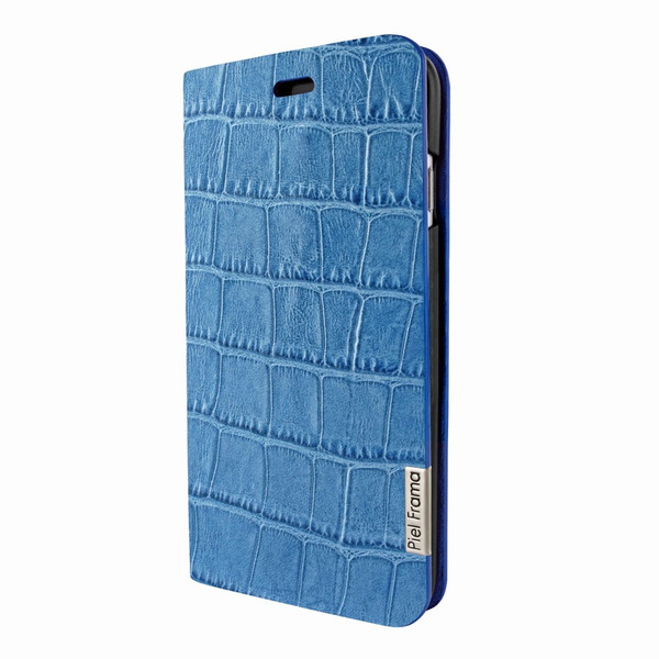 Piel Frama 762 Blue Crocodile FramaSlimCards Leather Case for Apple iPhone 7 / 8