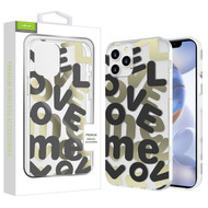 Airium Love Me Fusion Protector Case for Apple iPhone 12 (6.1) - Black