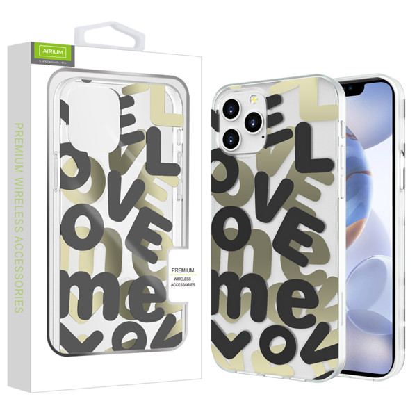 Airium Love Me Fusion Protector Case for Apple iPhone 12 (6.1) - Black