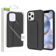 Airium Hybrid Case (with Foldable Stand) for Apple iPhone 12 (6.1) - Black