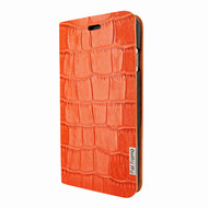 Piel Frama 762 Orange Crocodile FramaSlimCards Leather Case for Apple iPhone 7 / 8