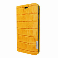 Piel Frama 762 Yellow Crocodile FramaSlimCards Leather Case for Apple iPhone 7 / 8