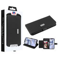 MyBat MyJacket Wallet Xtra Series for Apple iPhone 12 (6.1) - Black / Black