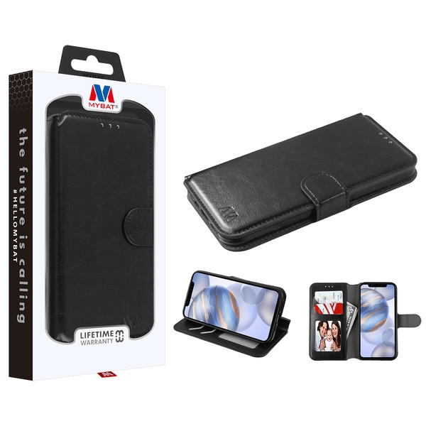 MyBat MyJacket Wallet Element Series for Apple iPhone 12 (6.1) - Black