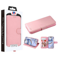 MyBat MyJacket Wallet Element Series for Apple iPhone 12 (6.1) - Pink