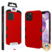 MyBat TUFF Subs Hybrid Case for Apple iPhone 12 Pro Max (6.7) - Titanium Red / Black