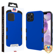 MyBat TUFF Subs Hybrid Case for Apple iPhone 12 Pro Max (6.7) - Titanium Dark Blue / Black
