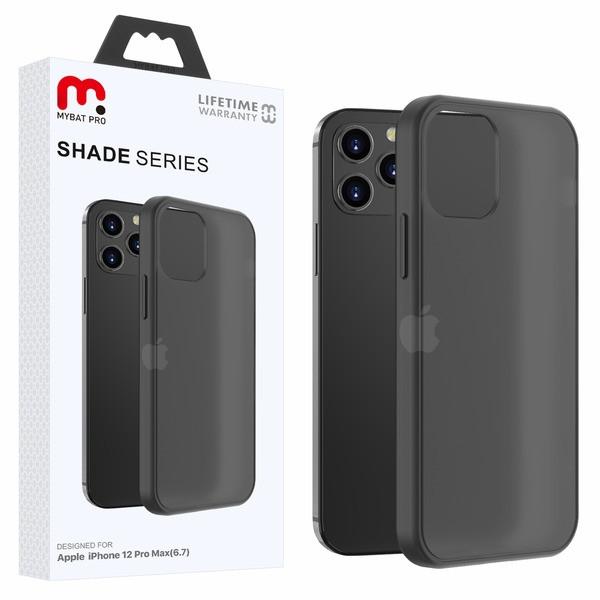 MyBat Pro Shade Series Hybrid Case for Apple iPhone 12 Pro Max (6.7) - Semi Transparent Smoke