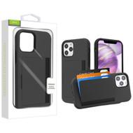 Airium Poket Hybrid Protector Cover for Apple iPhone 12 Pro Max (6.7) - Black / Black