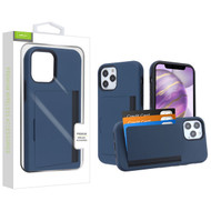 Airium Poket Hybrid Protector Cover for Apple iPhone 12 Pro Max (6.7) - Ink Blue / Black