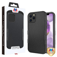 MyBat TUFF Subs Hybrid Case for Apple iPhone 12 Pro Max (6.7) - Natural Black / Black