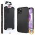 MyBat TUFF Subs Hybrid Case for Apple iPhone 12 Pro Max (6.7) - Natural Black / Black