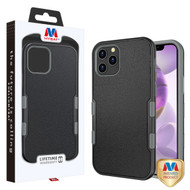 MyBat TUFF Subs Hybrid Case for Apple iPhone 12 Pro Max (6.7) - Natural Black / Iron Gray