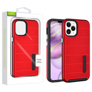 Airium Fusion Protector Case for Apple iPhone 12 Pro Max (6.7) - Red Dots Textured / Black