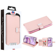 MyBat MyJacket Wallet Xtra Series for Apple iPhone 12 Pro Max (6.7) - Rose Gold