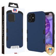 MyBat TUFF Subs Hybrid Case for Apple iPhone 12 mini (5.4) - Rubberized Ink Blue / Black