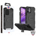 MyBat Storm Tank Hybrid Protector Case [Military-Grade Certified] for Apple iPhone 12 mini (5.4) - Black / Black