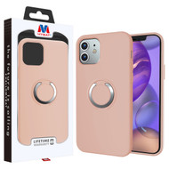 MyBat Halo Series Hybrid Case for Apple iPhone 12 mini (5.4) - Rose Gold