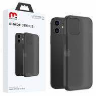 MyBat Pro Shade Series Hybrid Case for Apple iPhone 12 mini (5.4) - Semi Transparent Smoke