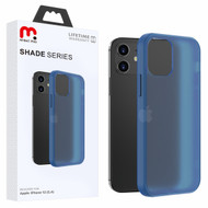 MyBat Pro Shade Series Hybrid Case for Apple iPhone 12 mini (5.4) - Semi Transparent Navy Blue