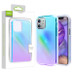 Airium Frame Hybrid Case for Apple iPhone 12 mini (5.4) - Colorful Stars Transparent