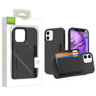 Airium Poket Hybrid Protector Cover for Apple iPhone 12 mini (5.4) - Black / Black