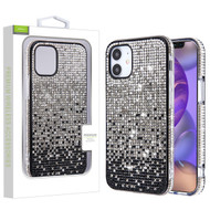 Airium Crystals Sparks Case for Apple iPhone 12 mini (5.4) - Black Gradient