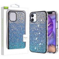 Airium Crystals Sparks Case for Apple iPhone 12 mini (5.4) - Blue Gradient