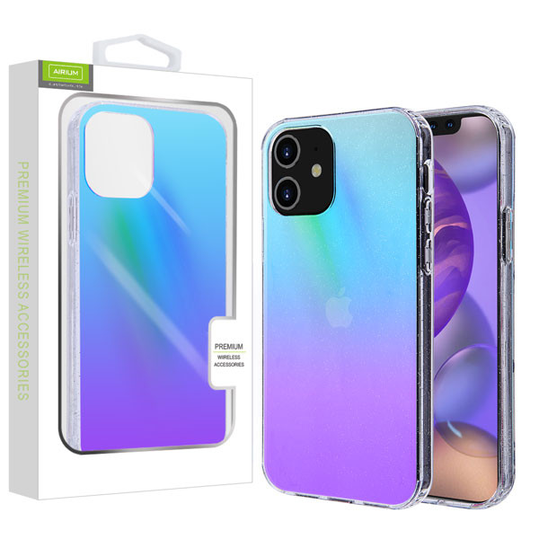 Airium Fusion Protector Cover for Apple iPhone 12 mini (5.4) - Transparent Colorful Stars