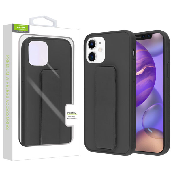 Airium Hybrid Case (with Foldable Stand) for Apple iPhone 12 mini (5.4) - Black