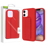 Airium Hybrid Case (with Foldable Stand) for Apple iPhone 12 mini (5.4) - Red