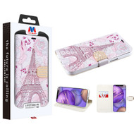 MyBat MyJacket Wallet Diamond Series for Apple iPhone 12 mini (5.4) - Eiffel Tower