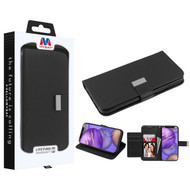 MyBat MyJacket Wallet Xtra Series for Apple iPhone 12 mini (5.4) - Black / Black