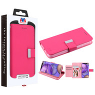 MyBat MyJacket Wallet Xtra Series for Apple iPhone 12 mini (5.4) - Hot Pink / Pink