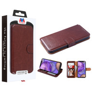 MyBat MyJacket Wallet Element Series for Apple iPhone 12 mini (5.4) - Brown