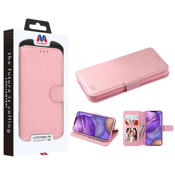 MyBat MyJacket Wallet Element Series for Apple iPhone 12 mini (5.4) - Pink