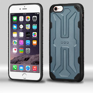 Airium DefyR Hybrid Protector Case for Apple iPhone 6s Plus/6 Plus - Natural SLATE / Black