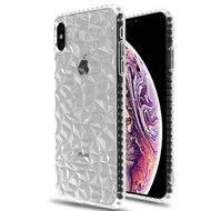 Airium Polygon Candy Skin Cover for Apple iPhone XS Max - Transparent Clear