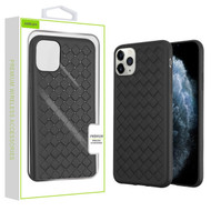 Airium Woven Grain Candy Skin Cover for Apple iPhone 11 Pro - Black